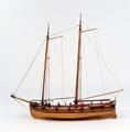 Fartygsmodell-Kanonbarkass - Sjöhistoriska museet - O 00045.tif