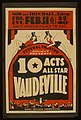 Federal Theatre Project presents 10 acts all star vaudeville LCCN98516896.jpg
