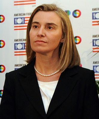 Federica Mogherini - Federica Mogherini in 2014.