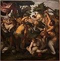 Felice brusasorzi, battaglia dei centauri e lapiti, 1600 ca.jpg