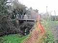 Fence by the bridge - geograph.org.uk - 1639846.jpg
