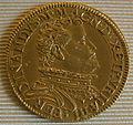 Ferdinando I granduke of tuscany coins, 1587-1609, quadrupla 1591.JPG