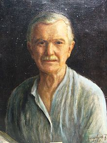 Ferenc JOACHIM (1882-1964) self portrait, oil-on-canvas, 1958, Budapest, Hungary.JPG