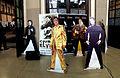 Feria del Disco de Coleccionista en Barcelona (Abril 2016) - Exhibición Elvis Presley.jpg