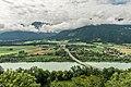Ferlach Kirschentheuer Draubrücke Ferlacher Horn 13072018 5981.jpg