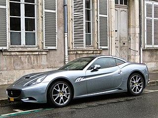 Ferrari California sports car