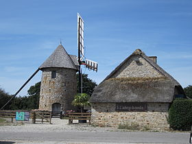 Le moulin de Fierville.