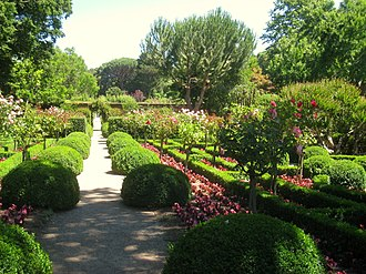 Filoli - The Chartres Garden