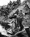 FinnishTroopsInLaplandWar 1944 crossing river.jpg