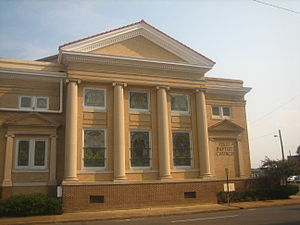 Monroe, Louisiana - First Baptist Church in downtown Monroe