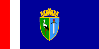 Dvor, Croatia - Image: Flag of Sisak Moslavina County