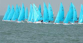 Fleet racing - The start of a fleet race