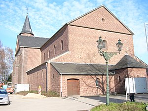 Düsseldorf-Flehe - Image: Fleher Kirche
