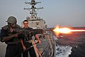 Flickr - Official U.S. Navy Imagery - A Sailor displays firepower..jpg