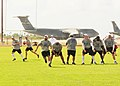 Flickr - Official U.S. Navy Imagery - NFL Pro Bowl players practice..jpg