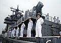 Flickr - Official U.S. Navy Imagery - Sailors man the rails aboard the USS Boxer.jpg