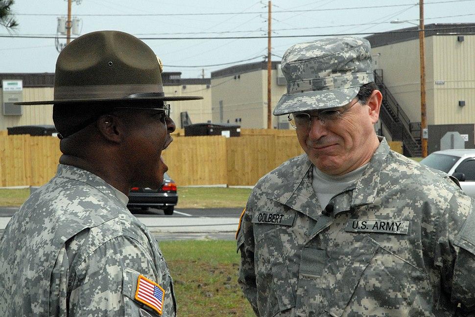 Flickr - The U.S. Army - Drill sergeant discipline