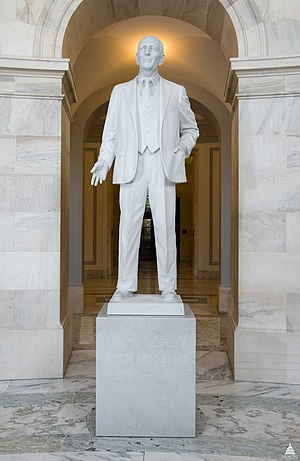 Frederick Hart (sculptor) - Image: Flickr US Capitol Richard B. Russell Statue