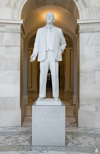 Russell Senate Office Building - Image: Flickr US Capitol Richard B. Russell Statue