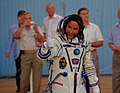Flight Engineer Joseph Acaba walks out to board Soyuz TMA-04M (7201140014).jpg