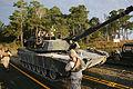 Floating tanks, Bridge Co., 2nd Tanks partner for training exercise 131017-M-IU187-054.jpg