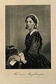Florence Nightingale. Engraving, 1872, after A. Chappel. Wellcome V0004318.jpg