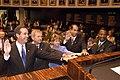 Florida State Senators taking the oath of office - Tallahassee, Florida.jpg