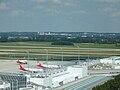 Flughafen München Franz Josef Strauß – Vorfeld 1 (Air Berlin).JPG