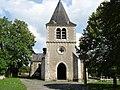Fontgombault (36) - Église Saint-Jacques - vue avant.jpg