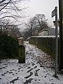 Footpath - Aireworth Grove - geograph.org.uk - 1111706.jpg