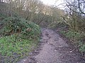 Footpath from Wood Lane up Post Hill - geograph.org.uk - 630994.jpg