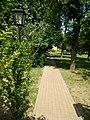 Footpath in the Central Park, Gyömrő, Hungary.jpg