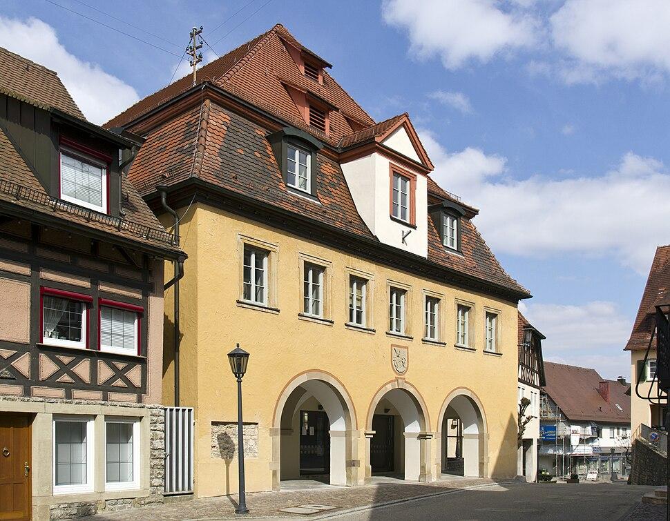 Forchtenberg Rathaus 20130402