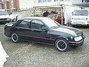 Ford Sierra sedan 2,0i GT, verze od roku 1991