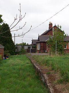Forge Valley railway station Disused railway station in North Yorkshire, England