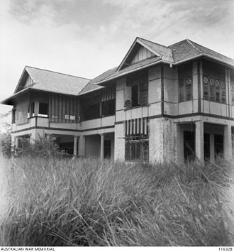 Miri, Malaysia - The Residency Building in Miri was originally used as an administration building for the British before been turned into Japanese headquarters during their occupation in Miri.