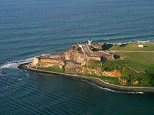 English: Fort San Felipe del Morro, San Juan, ...