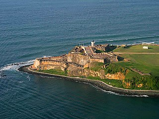 Fortress in San Juan, Puerto Rico