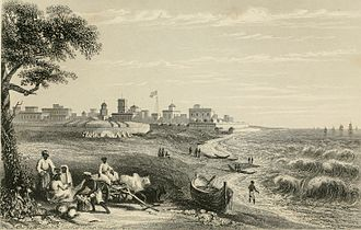 Fort St. George, India - Fort St George in 1858