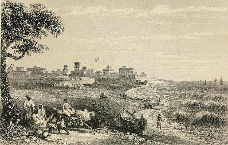 Fort St George Madras 1858