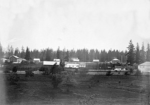Vancouver, Washington - Fort Vancouver in 1859