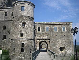 Fort l'Écluse - Image: Fort l'Ecluse 1