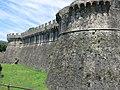 Fortezza di Sarzanello - western wall.jpg