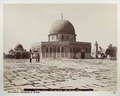 Fotografi från Jerusalem på moské Omar - Hallwylska museet - 104348.tif