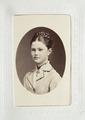 Fotografiporträtt på Hilda von Hallwyl, 1800-talets sista fjärdedel - Hallwylska museet - 107593.tif