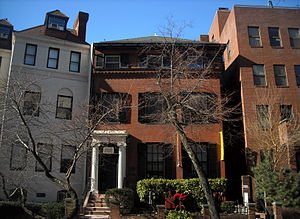Robert R. Hitt - Hitt's former home in Washington, D.C.