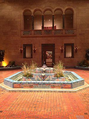 Joslyn Art Museum - The Fountain Court in Joslyn Art Museum.