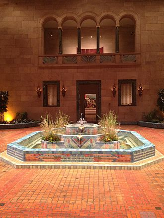 Joslyn Art Museum - The Fountain Court in Joslyn Art Museum.