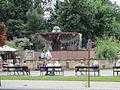 Fountain in Ciechocinek, Poland.JPG