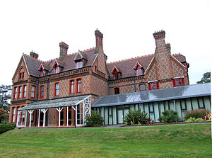 Foxhill House - Image: Foxhill from east